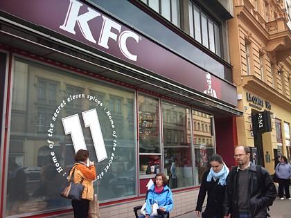KFC Na Poříčí - Florenc
