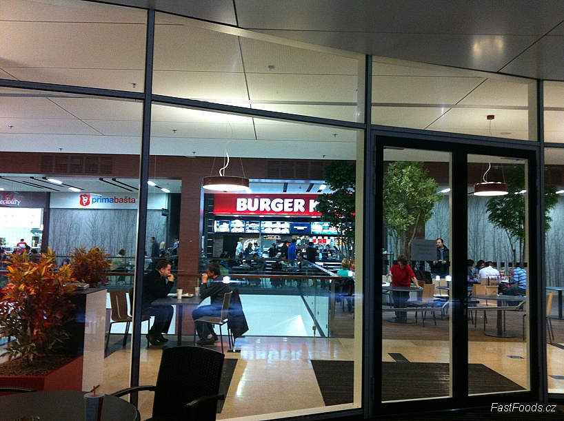 Galerie Harfa Burger King