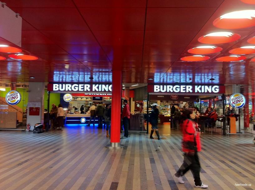 Burger King Hlavní Nádraží Praha