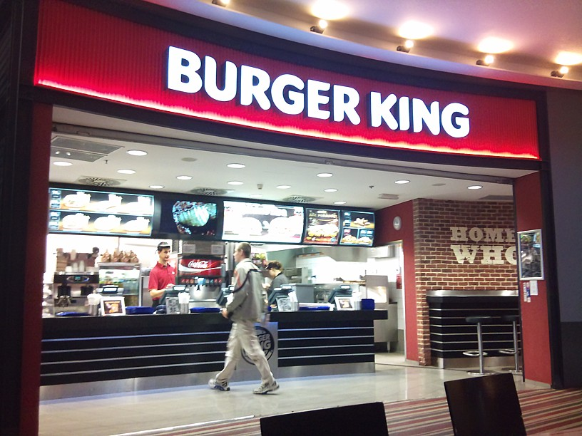 Burger King OC Chodov