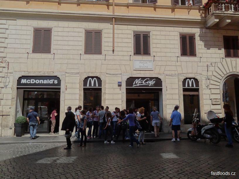 McDonalds Piazza di Spagna