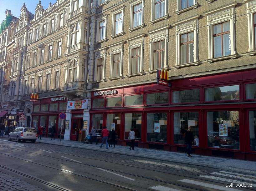 McDonalds Vodičkova 15, Praha 1