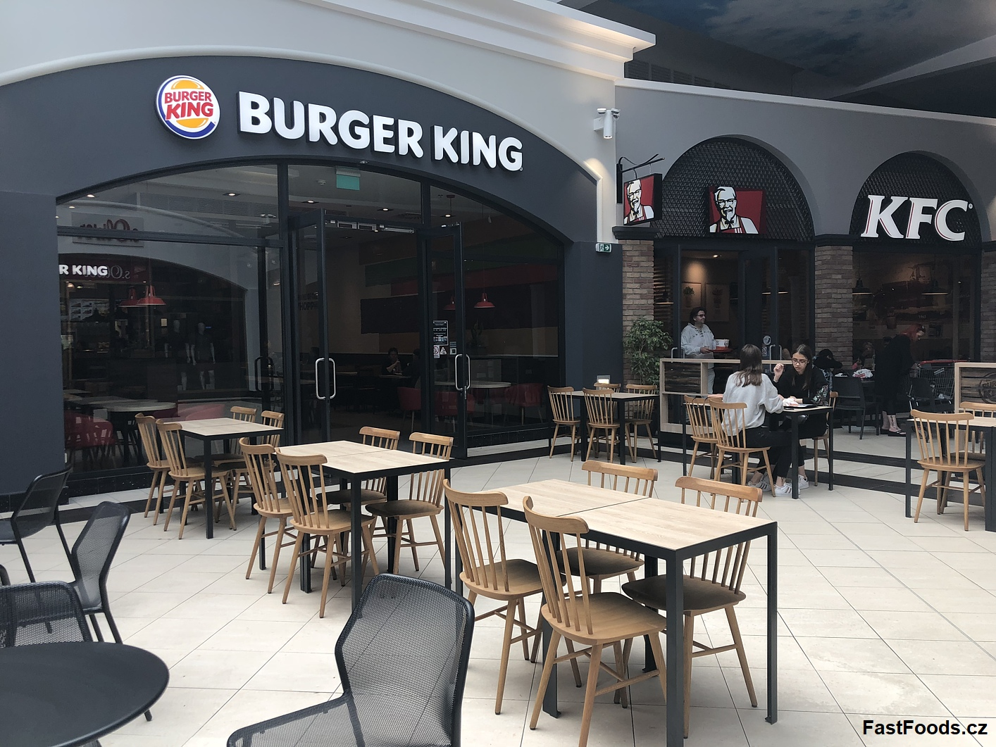 Burger King - Freeport Fashion Outlet, Hatě
